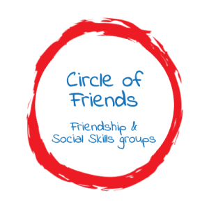Circle of Friends (160 & 96 font) button