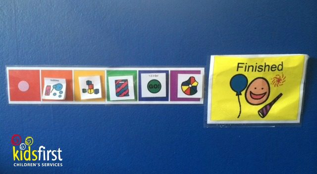 How to make a visual schedule - Kids First Children's Services