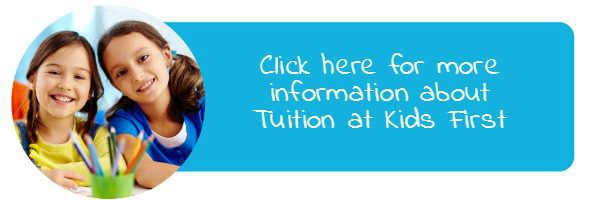 Find out more - tuition and teacher support at Kids First