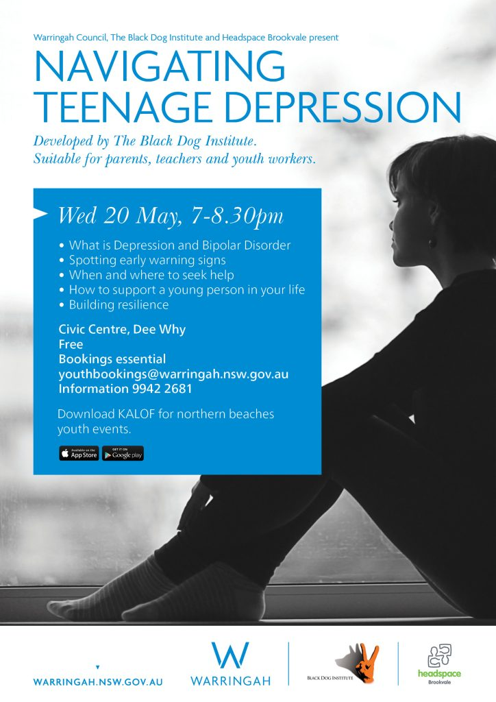 Free event - Naigating teenage depression