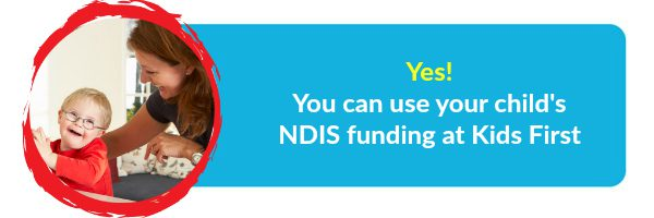NDIS at Kids First Children's Services in Sydney's northern beaches