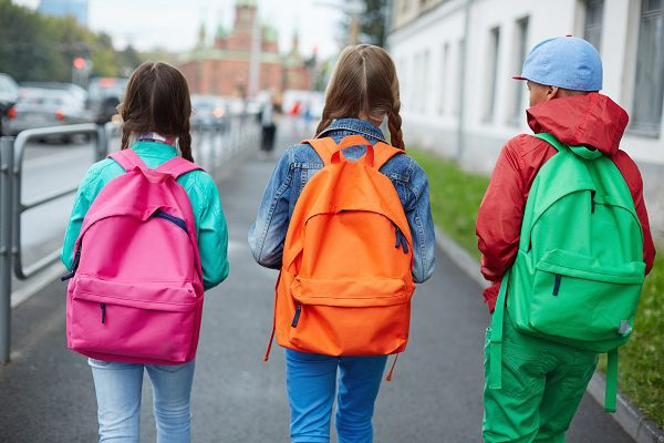 Backpacks are a great regulation tool for kids