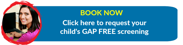 Book now - Gap Free Speech Therapy Screening at Kids First Children's Services