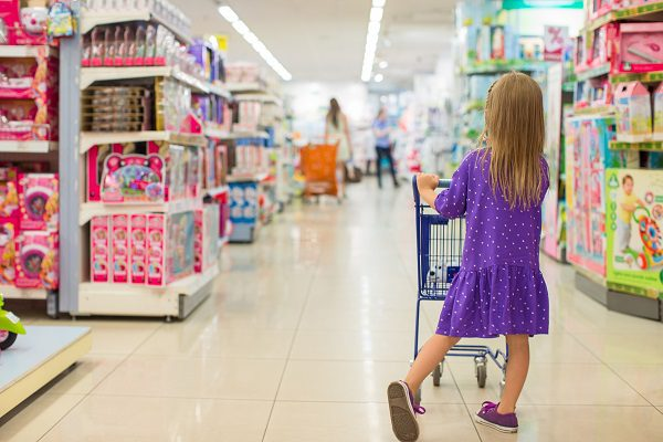 Everyday tasks like helping with the shopping can assist with children's regulation