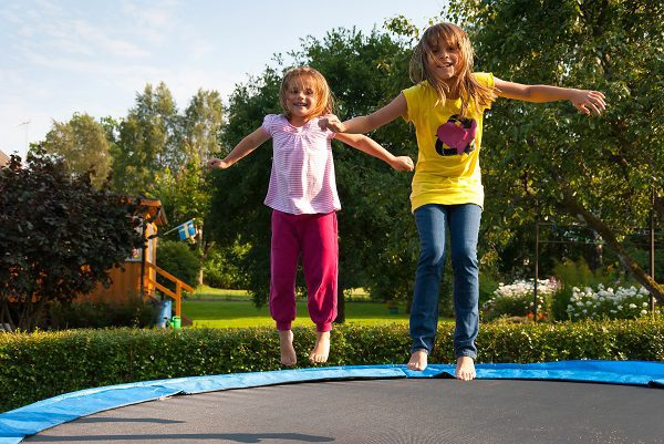 Trampolines give kids 'heavy work' opportunities that support their regulation