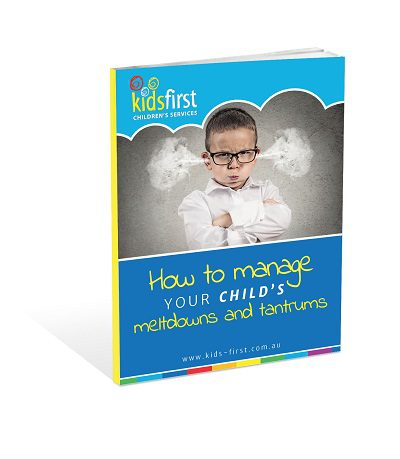 How to manage your child's meltdowns and tantrums - Free ebook