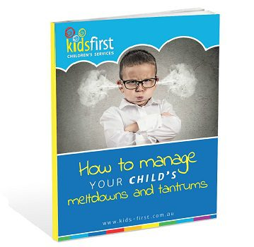 How to manage your child's meltdowns and tantrums - Free Ebook for parents