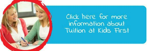 Find out more - high school English tuition at Kids First Children's Services