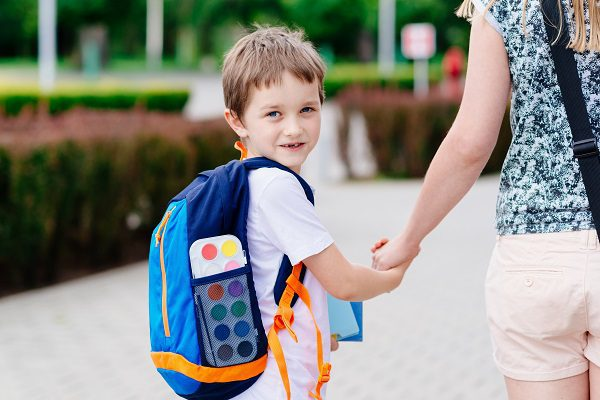 Experts share tips to help your child on their first day of school