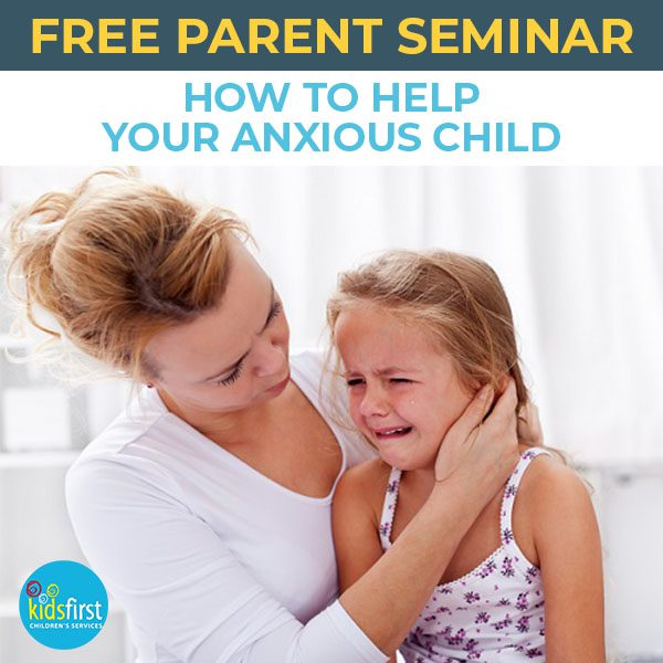Free psychologist seminar about anxious children