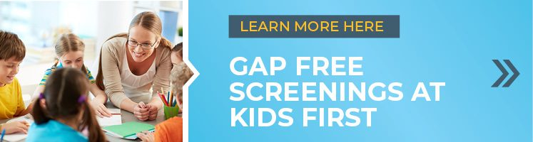 Find out more about Gap Free Screenings here