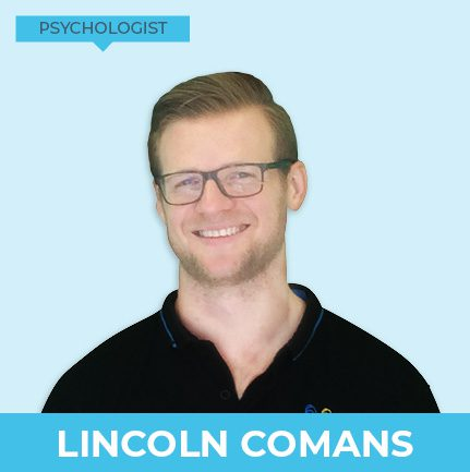 Lincoln Comans is an experienced psychologist and works at Kids First Children's Services in Brookvale