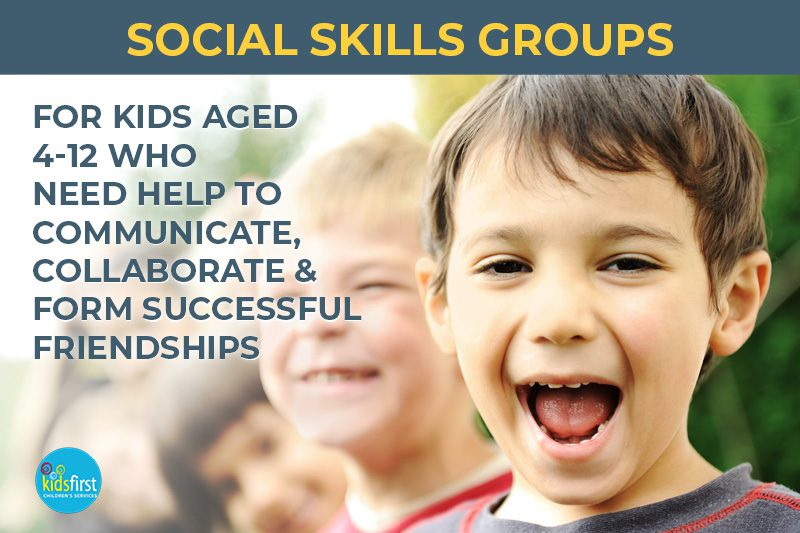 Social skills groups for children with autism at Kids First Children's Services