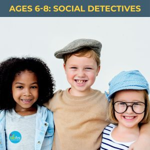 Social Detectives Social Skills groups for children aged 6 to 8 at Kids First Children's Services Brookvale