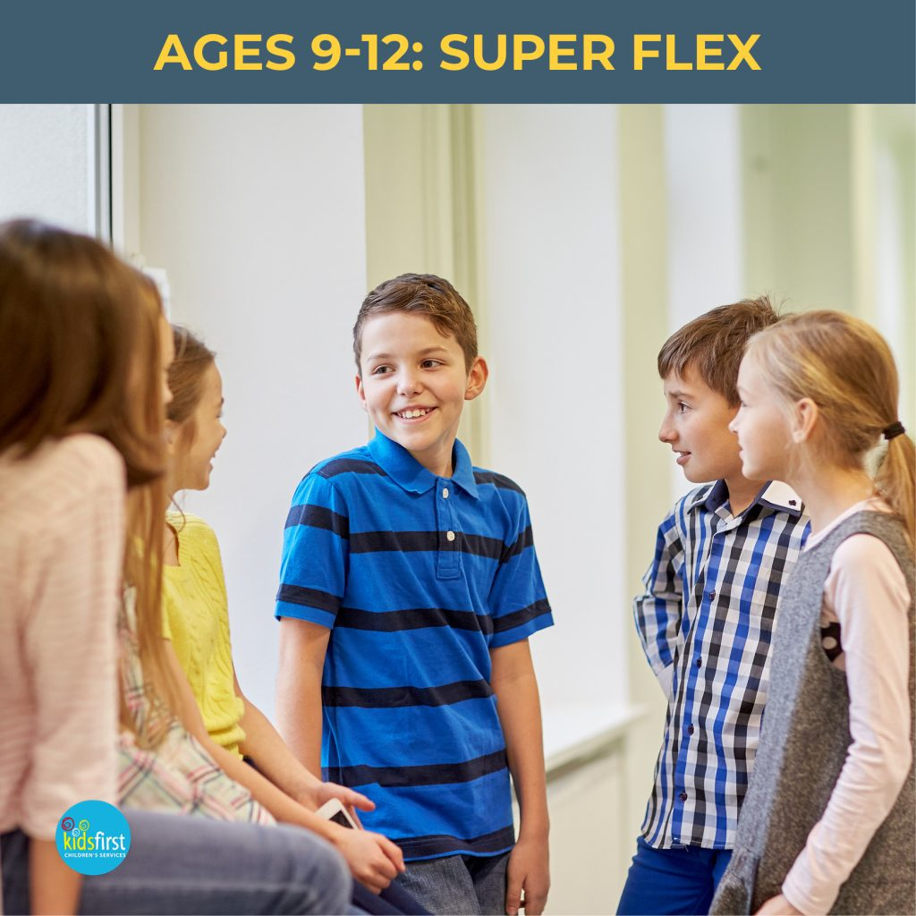 Super Flex Social Skills groups at Kids First Children's Services Brookvale