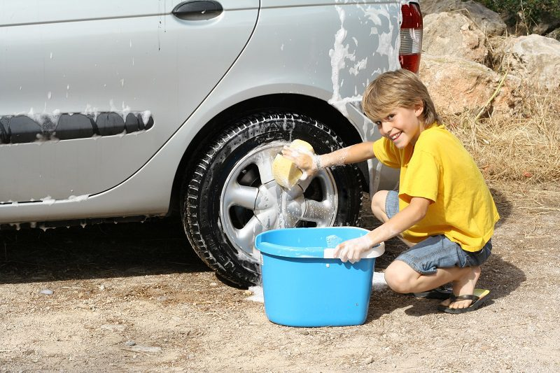 A charity car wash is a great way for kids to raise money to support Australian bushfire victims