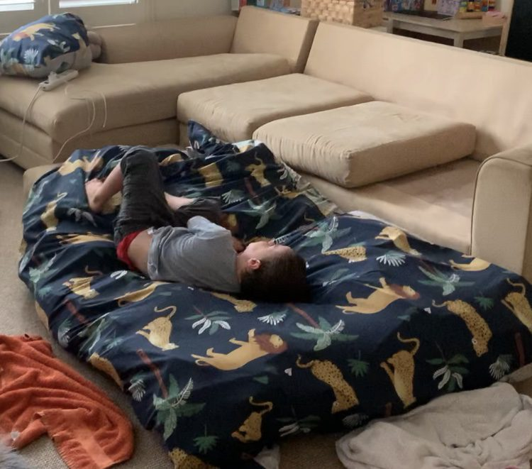 OT Hint: Make your own crash mat for your child at home