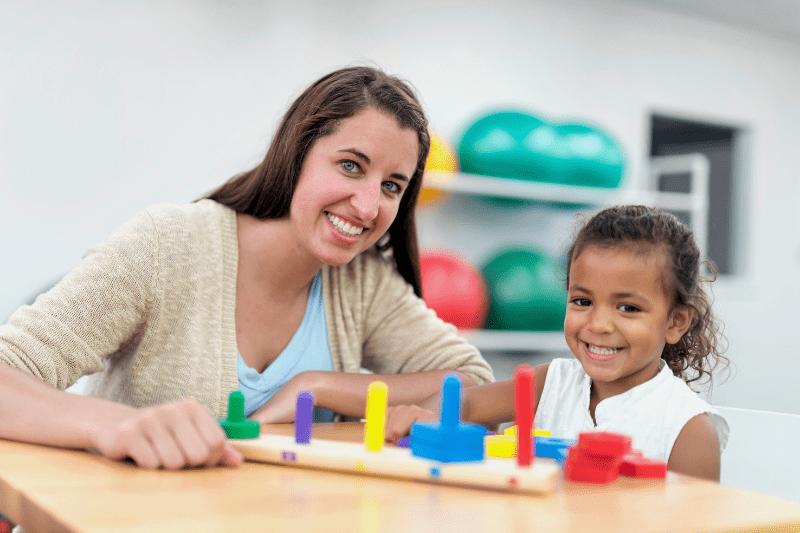 Children's occupational therapist in Sydney's northern beaches